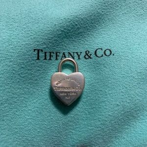 Tiffany & Co heart lock charm